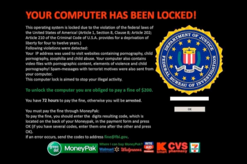 """FBI / Justice Department"" Virus Still Wide-spread"